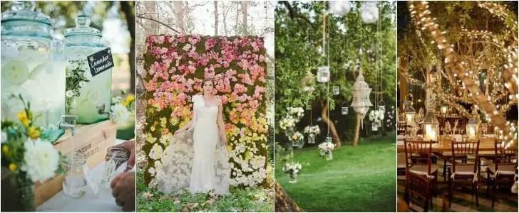 10 Shabby Chic Garden Wedding Decoration Ideas • 1001 Gardens