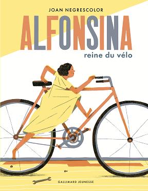livre enfant Alfonsina reine du vélo