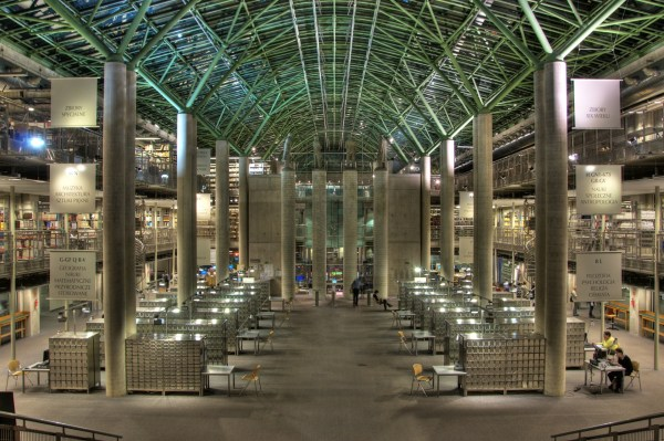 University of Warsaw Library, Poland | 1001 Libraries to ...