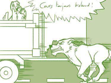 Les aventures de Haxo 3 - dessin 2