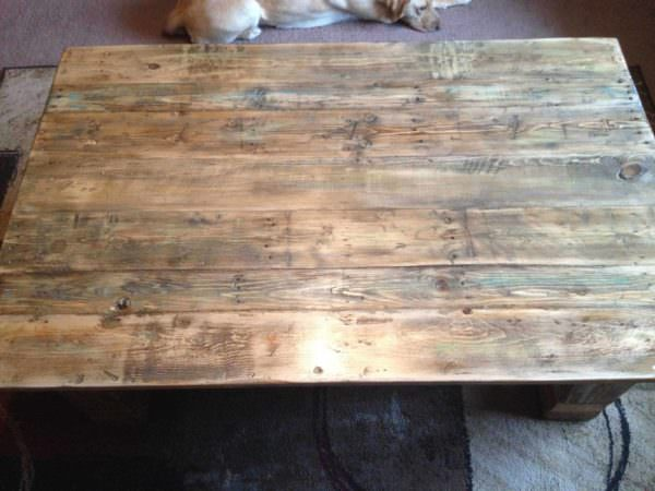 From Pallet To Coffee Table! • 1001 Pallets