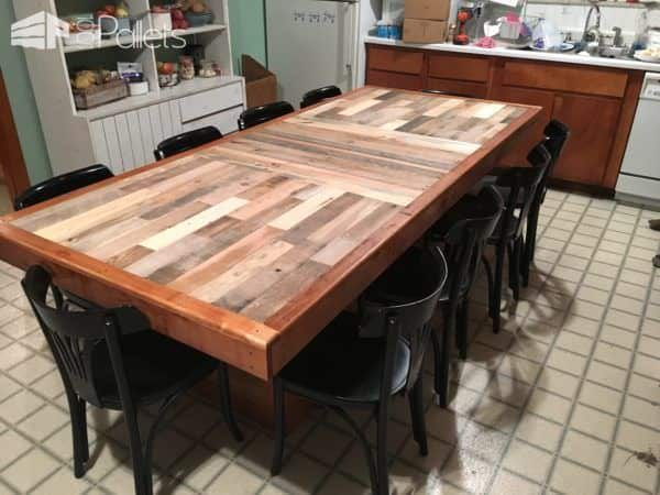 Stunning Pallet Dining Table • 1001 Pallets