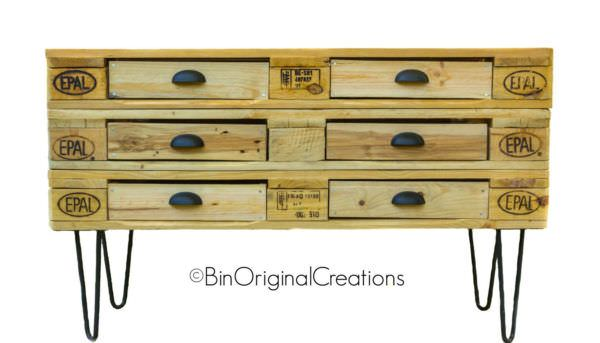 Etsy Product Of The Week: Gorgeous Pallet Dresser • 1001