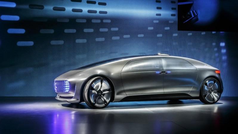 Mercedes F 015 concept voiture autonome