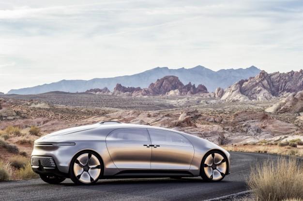 Mercedes concept voiture autonome