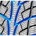 Rainures d'un pneu hiver