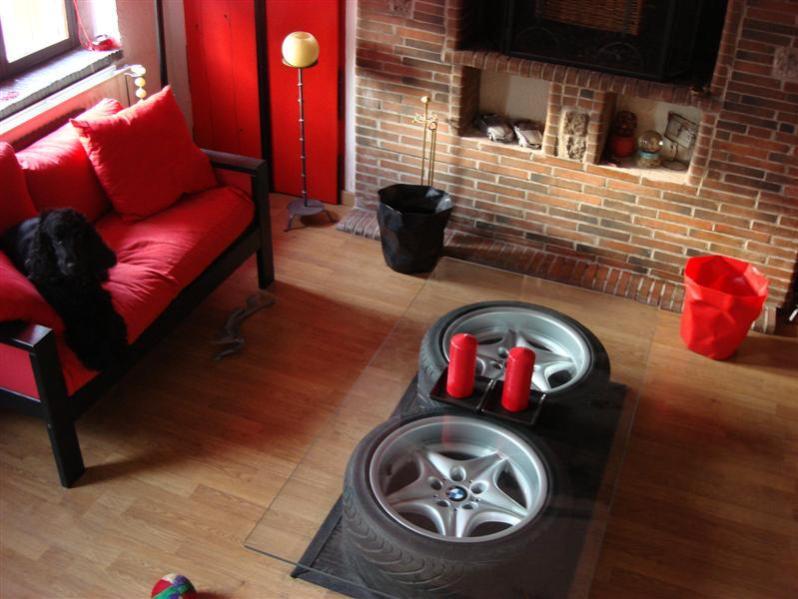 Fabriquer une table en pneus