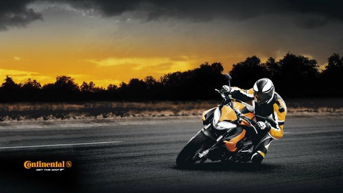 Pneus moto continental