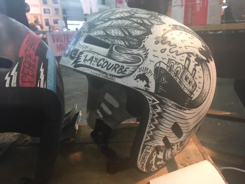 casque customisé