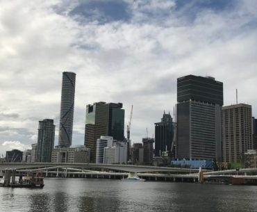 Brisbane River Skyline