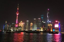 Shanghai The Bund Skyline