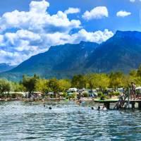 Camping zwischen Seen und Bergen im Valsugana