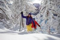 Wandervergnügen im Winter