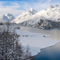 "Filmreifer Winter in ""Slow Motion"" in Sils-Maria"