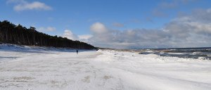 Kolberger Strand im Winter ©Idea Spa