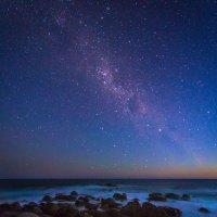 Aurora Australis, die Polarlichter des Südens