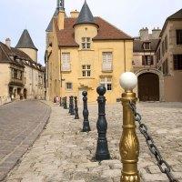 Avallon in der französischen Region Burgund-Franche-Comté