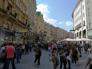 Einkaufsstrasse Wien ©Detlef Düring