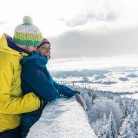 Wintererlebnisse abseits der Piste im verschneiten Mühlviertel