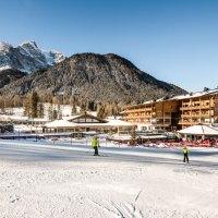 Von der Piste in die Termesana von Bad Moos – Dolomites Spa Resort