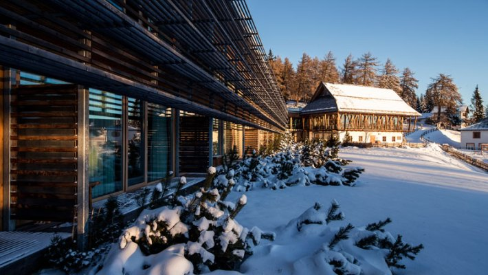 Slow Winter im vigilius mountain resort