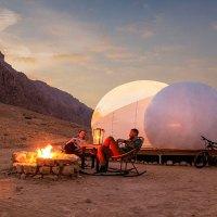 8.000-jährige Geschichte und Glamping im Jebel Hafit Desert Park