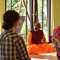 Retreat mit indischem Guru im Gartenhotel Crystal