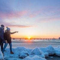 Stimmungsvoller Winter an der Ostsee Schleswig-Holstein