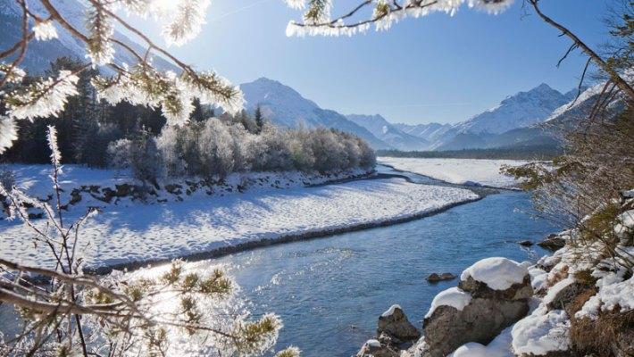 Sanfte Winter-Aktivitäten im Tiroler Lechtal