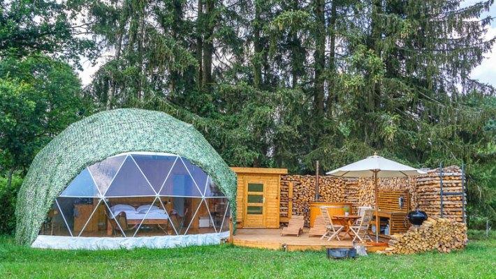 Camping und Glamping in Tschechien