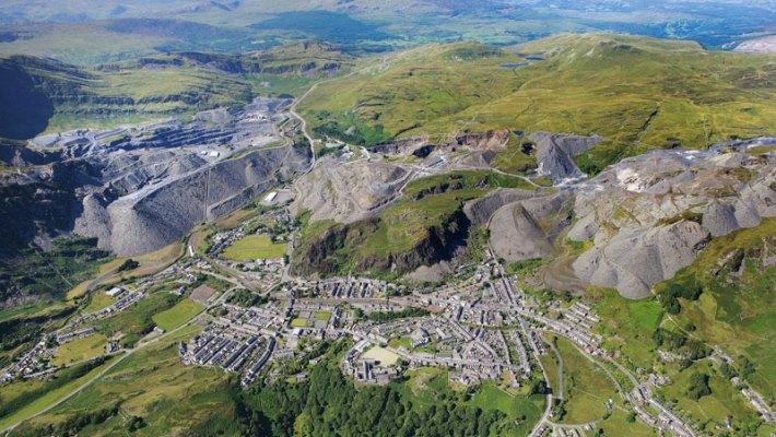Schieferlandschaft von Wales von der UNESCO nun Weltkulturerbe