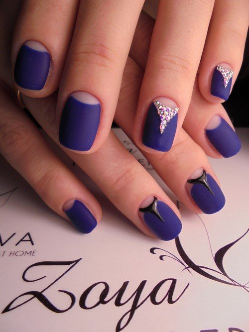 дизайн ногтей с лунками фото 3