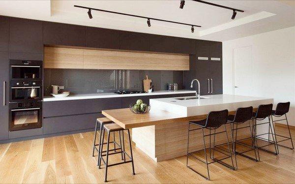 современный дизайн кухни фото 2019 современные идеи 3