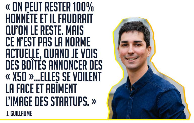 startup mensonge