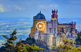 Palácio da Pena eleito o castelo mais belo da Europa!