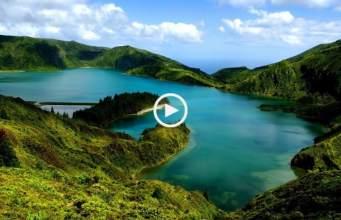 A sumptuosa ilha de S. Miguel