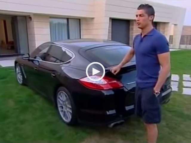A casa de Cristiano Ronaldo