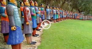 O Famoso Jardim Buddha Eden
