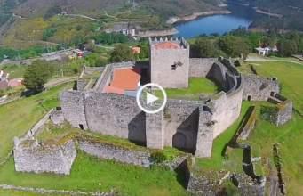 Castelo de Lindoso visto do céu