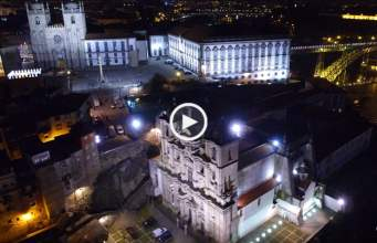 Fabuloso Porto à Noite (Ultra Alta Definição)