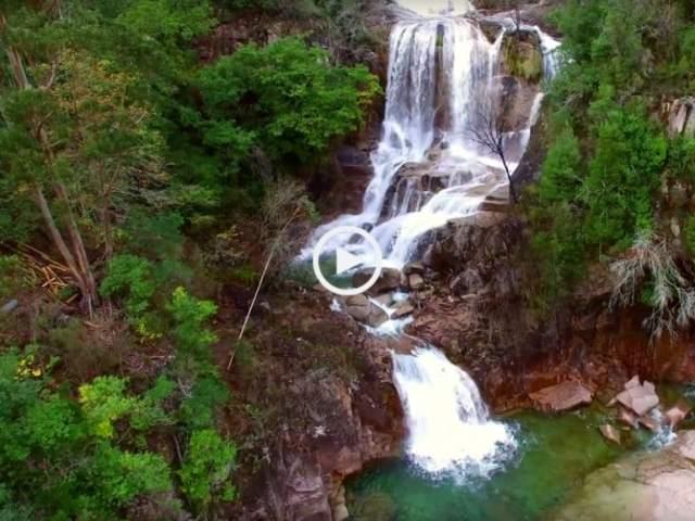Talvez a mais bonita cascata do Gerês