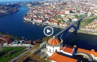 Locais emblemáticos do Porto (Ultra Alta Definição)