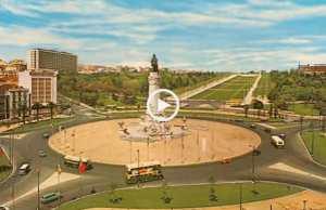 Lisboa antiga e a cores