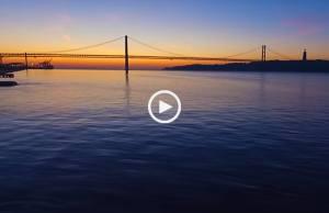Que beleza, Lisboa a amanhecer