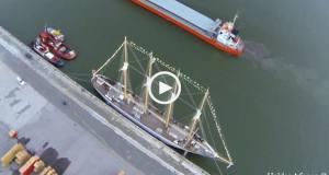 Um dos veleiros mais belos de Portugal