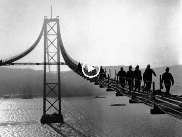 A construção da Ponte 25 de Abril