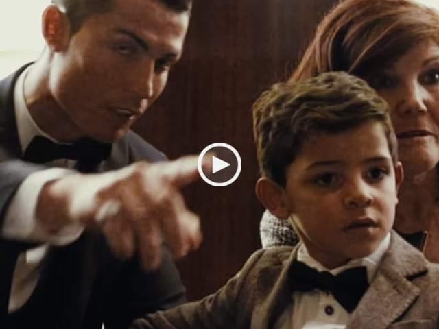 O Encontro - Cristiano Ronaldo, o filho e Messi