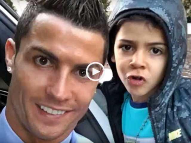 Cristiano Ronaldo,o melhor pai do mundo!
