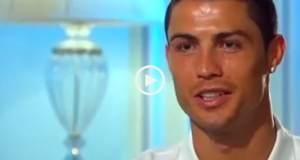 Cristiano Ronaldo fala sobre o que pensam dele e emociona-se ao falar do pai