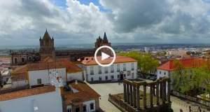 Templo de Diana, único em Portugal!